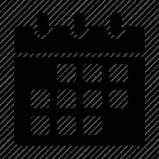 calendar, date, deadline, event, month icon