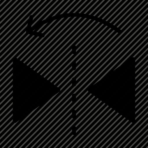 arrow, creative, design, process, shape icon
