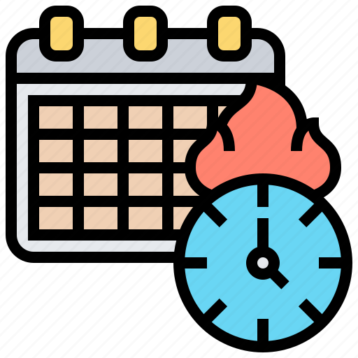 appointment, calendar, date, deadline, schedule icon