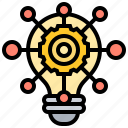 creative, insight, intelligence, opportunity, solutions icon