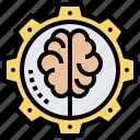 manage, mindset, problem, process, solving icon