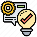 access, check, confirm, test, verification icon