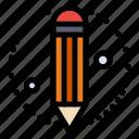 creative, pencil, process icon