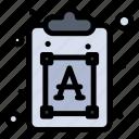 creative, font, process, text icon
