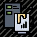 coffee, creative, file, process icon