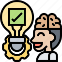 check, assessment, evaluation, solution, test icon