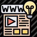 online, display, website, infographic, content