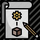 prototype, idea, blueprint, industry, engineering