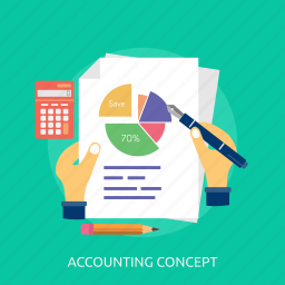 calculator, concept, document, guardar, paper, pen, pencil, save icon