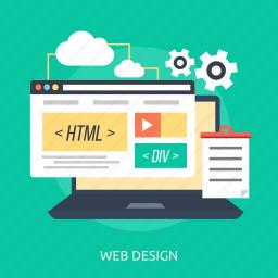 builder, construction, design, online, page, site, website icon