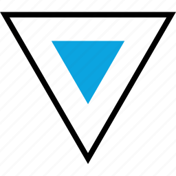 abstract, creative, creativity, triangle icon