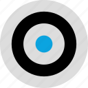 eye, goal, look, target icon