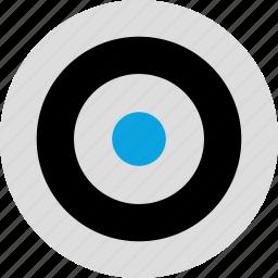 eye, goal, look, target icon