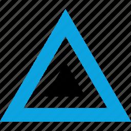 cool, creative, design, triangle icon