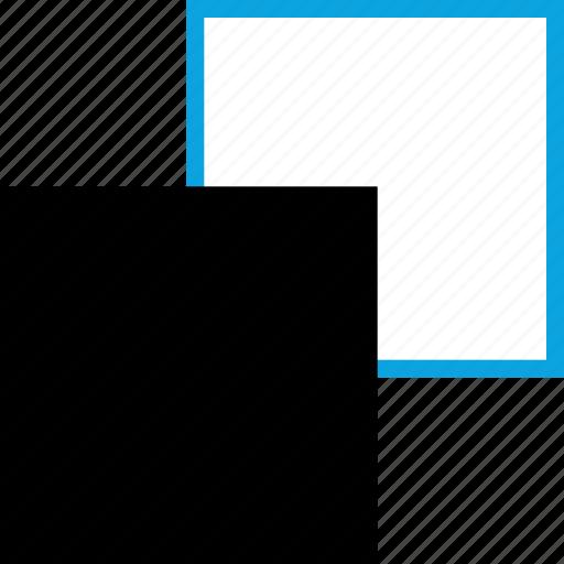 blocks, creative, design, duplicate icon