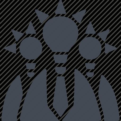 creativ team, ideas, people, users icon
