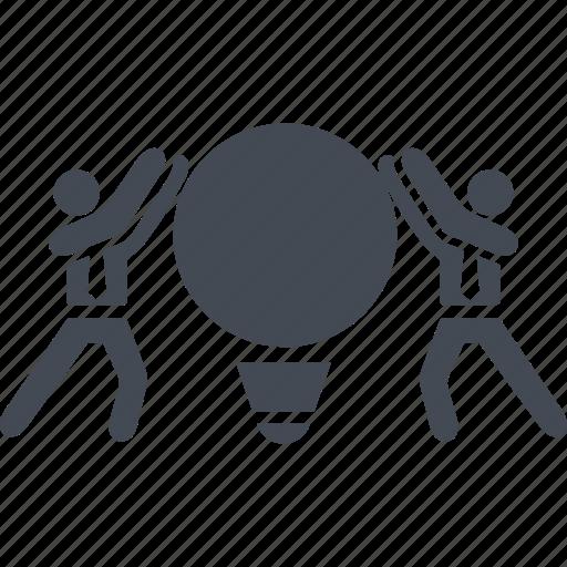 creativ team, job, people, process icon