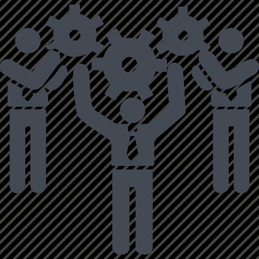 creativ team, creative process, job, people icon
