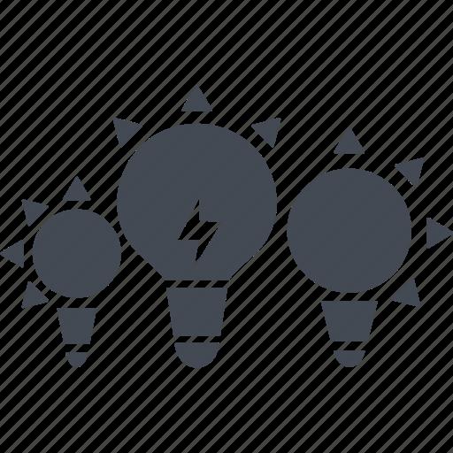 business, creativ team, creative, idea, lamp icon