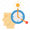 chance, clock, hourglass, time, timer icon