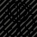 brainstrom, creative, idea icon