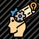 process, think icon