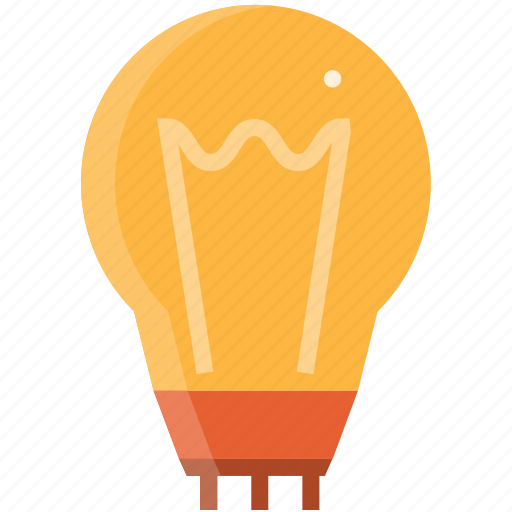 bulb, business, creative, design, idea, light icon