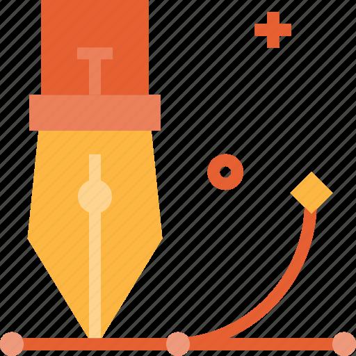 creative, design, graphic, pen, process, tool icon