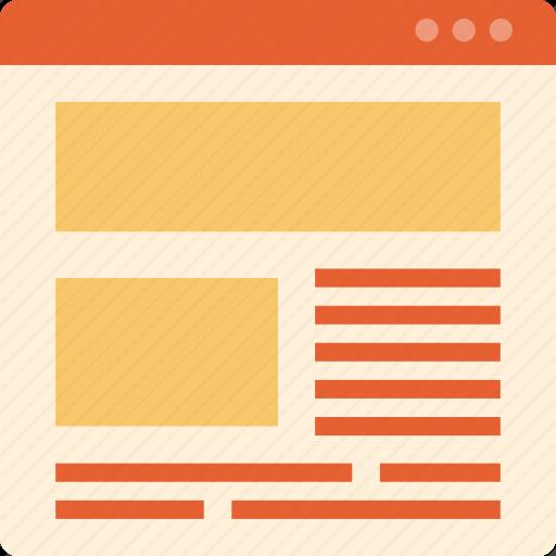 creative, design, internet, marketing, page, web icon