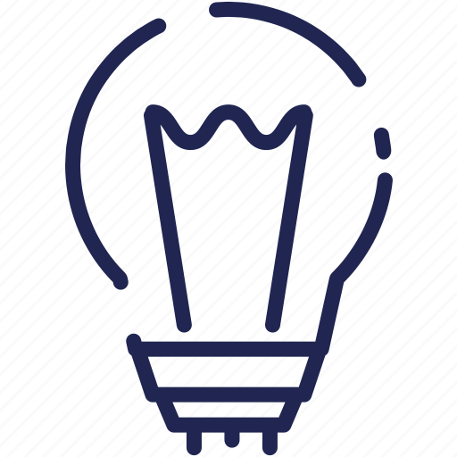 bulb, business, creative, design, idea, light icon