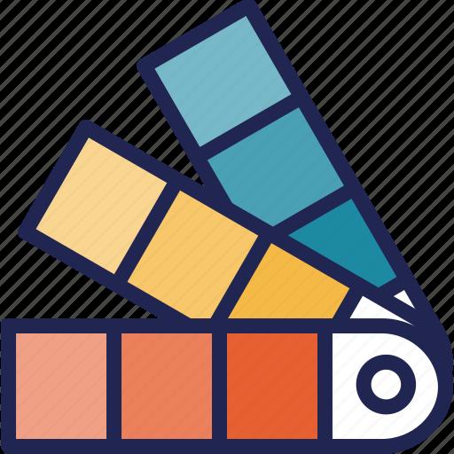 color, creative, design, graphic, plate, process, tool icon