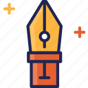 creative, design, graphic, pen, tool icon