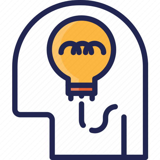 Creative, head, idea, mind, think, thinking icon - Download on Iconfinder