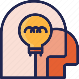 brainstorm, creative, idea, mind, team, think, thinking icon
