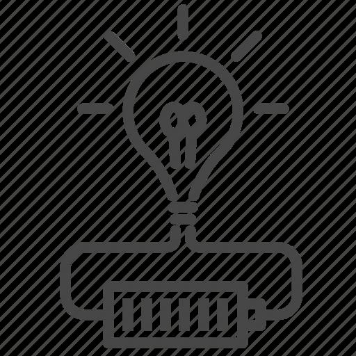 creative, creativity, energy, full, idea, innovation, power icon