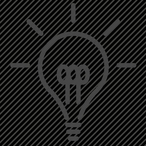 bulb, creative, creativity, idea, innovation, lamp, light icon