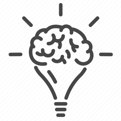 bright, brilliant, clever, creative, creativity, idea, innovation icon