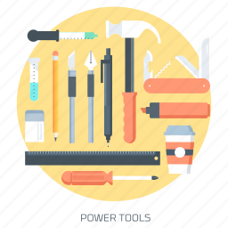 create, creativity, design, idea, tools, work icon