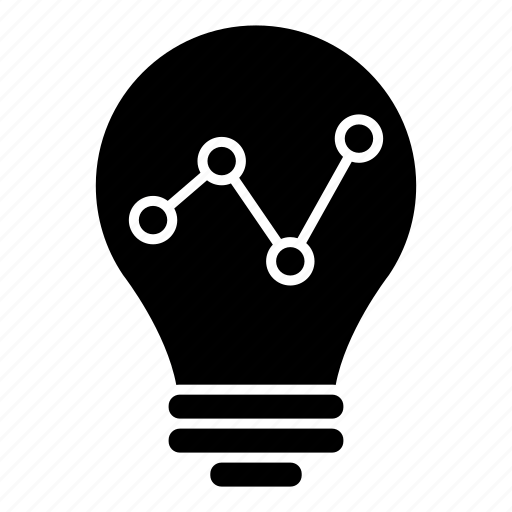 business, creativity, diagram, graph, intelligence, statistics icon
