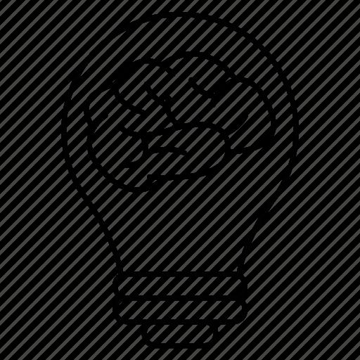 brain, creativity, idea, intelligence, knowledge icon