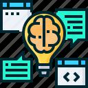 think, strategy, creativity, brainstorm, idea