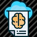 idea, innovation, creativity, concept, brain, cloud