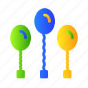 baloon, birthday, decoration, party icon