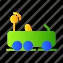 car, kids, remote, toys icon