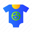 baby, clothes, clothing, shirt icon