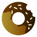 cake, dessert, donut, food