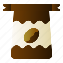bag, bean, coffee, package
