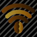 coffee, link, network, wifi