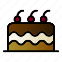 bake, cake, dessert, food icon