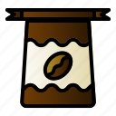 bag, bean, coffee, package icon